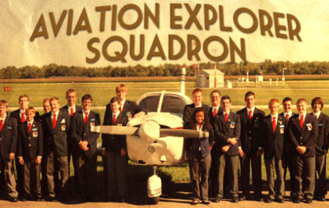 Aviation Explorer Squadron 8 fundraiser