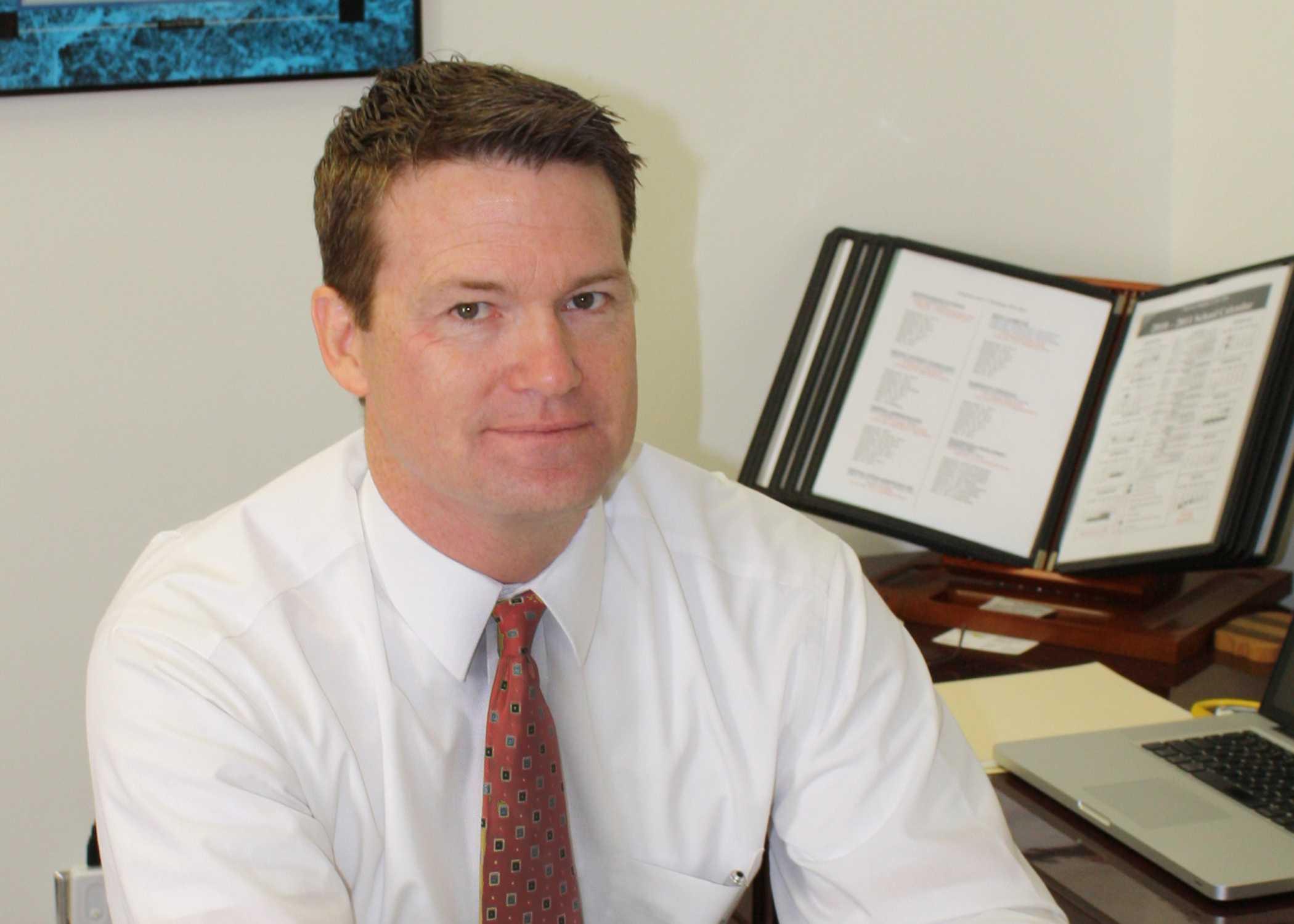 Superintendent Dr. Martin Stessman