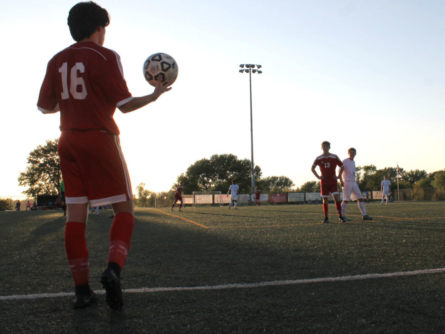Soccer tops Leavenworth with last second goal