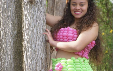 Balloon Artist Designs Elaborate Creations from Dresses to Arches