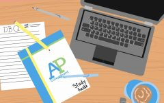 Navigation to Story: AP Students Testing at Home