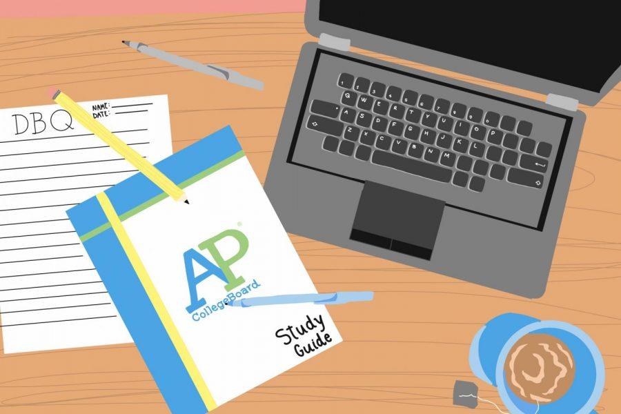 AP Students Testing at Home