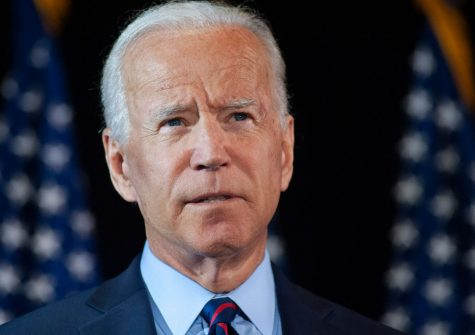 WILMINGTON, DE - SEPTEMBER 24: Democratic candidate for president, former Vice President Joe Biden  makes remarks about the DNI Whistleblower Report as well as President Trumps ongoing abuse of power at the Hotel DuPont on September 24, 2019 in Wilmington, Delaware. (Photo by William Thomas Cain/Getty Images)