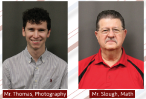 New Math and Photography Teachers Start at Semester